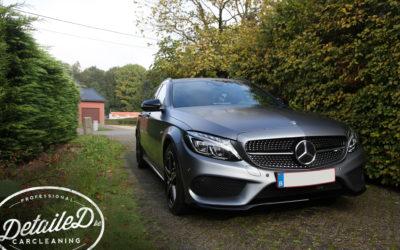 Mercedes C43 AMG – New Car Pakket – Matte paint