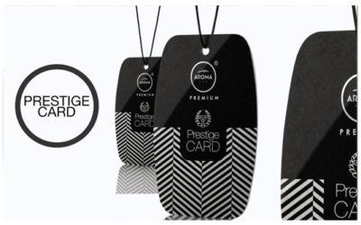 NIEUW – Prestige Cards Air Freshener
