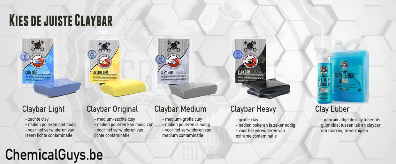 claybar klei keuze