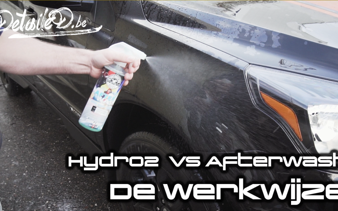 Carpro Hydro2 vs ChemicalGuys Afterwash